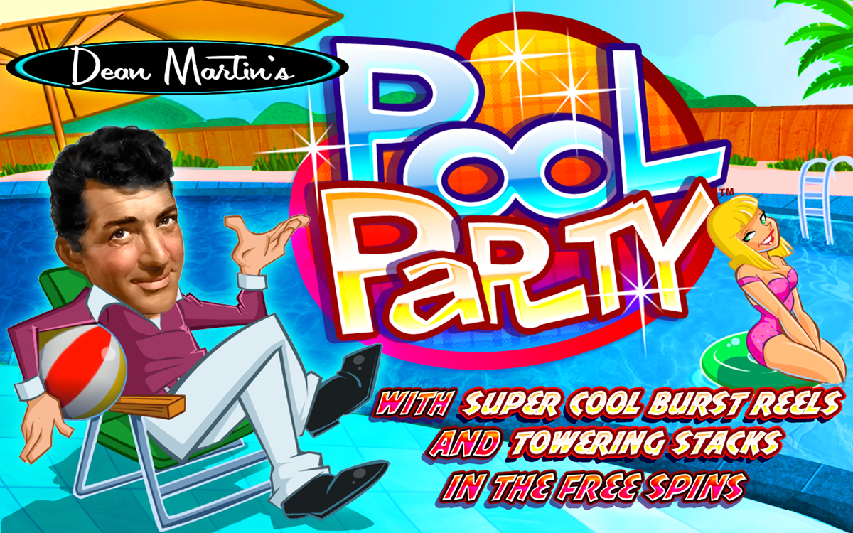 Dean Martin's Pool Party